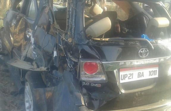 Moradabad Sp Mla Haji Irfan Died In Road Accident Moradabad
