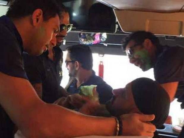 team-india-holi