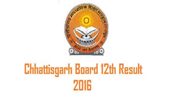 Chhattisgarh 12th board exam results
