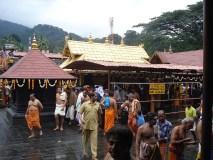 सबरीमाला मंदिर में जारी है विरोध प्रदर्शन, एक बुजुर्ग महिला घायल