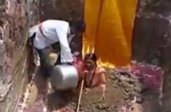 सिंहस्थ कुम्भ में जिंदा समाधि ले रहीं साध्वी त्रिकाल भवंता