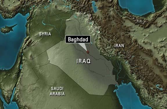 Baghdad-Iraq-map