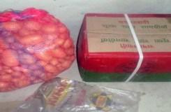 भूख से दलित की मौत के बाद पहुंचा राशन पैकेट, सामग्री