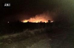 देश के सबसे बड़े आर्म्स डिपो में आग, 20 जवानों की मौत