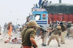 मथुरा: अतिक्रमण हटाने गई पुलिस की झड़प, SP सहित 21 की मौत