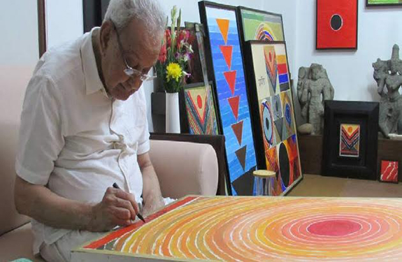 A famous painter Sayed Haider Raza Died In Delhi