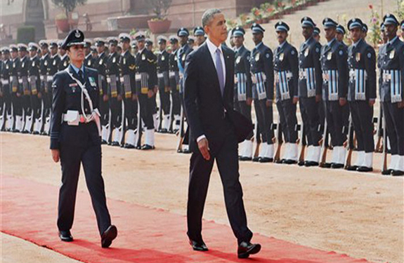 Pooja Thakur Guard of Honour, First lady Guard of Honour