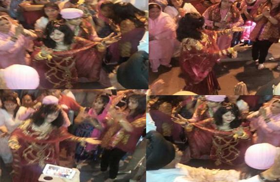 Radhe Maa Paid Obeisance And Dance In Chintpurni Temple Una Himachal Pradesh