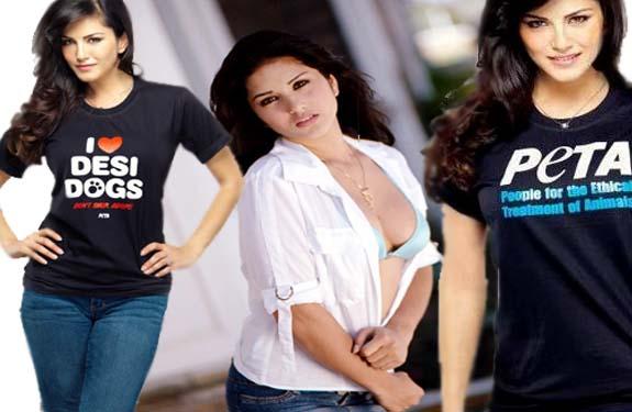 Sunny Leone Peta India