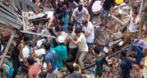 Thane, Bhiwandi, Maharashtra, Mumbai, Building, death, collapses, Injured, People, Police, Resque