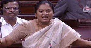AIADMK's RS MP Sasikala Pushpa