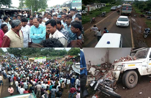 Madhya Pradesh Dindori Dist. Road Accident