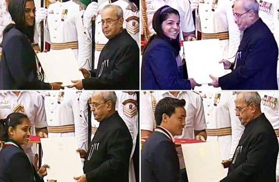 Four athletes get Rajiv Gandhi Khel Ratna award