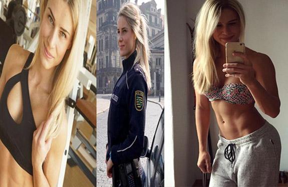 Hot lady cop, Police Officer Adrienne Koleszar