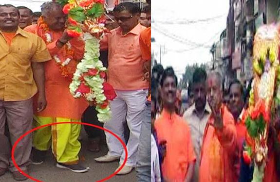 Khandwa Kanvad Yatra BJP Nand Kumar Singh Chauhan