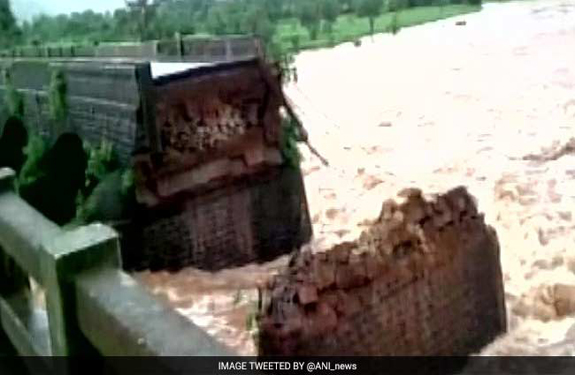 Mumbai-Goa Highway Bridged, raigarh-flood