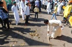 जश्ने ईद मिलादुन्नबी के जुलूस में दिया स्वच्छता का संदेश