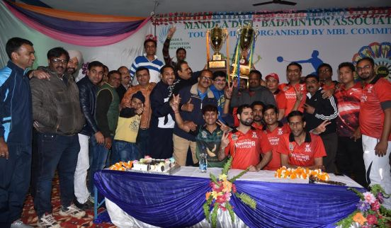 Badminton League final win Kingfisher Kings