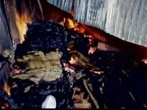 उज्जैन में हरि फाटक के पास 20 से ज्यादा दुकाने जली