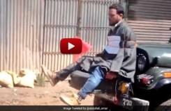 Video : जो लोग पत्थर फेंकेंगे उनका भी ऐसा ही हाल होगा !
