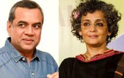 परेश रावल ने किया अरुंधति राय पर विवादित ट्वीट