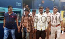 चलती ट्रेन में चाकू की नोक पर लूट, आरोपी गिरफ्तार