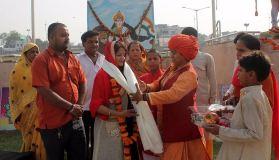 संकल्प दिवस के रूप में उत्साह के साथ मनाया गया गंगा दशहरा पर्व