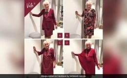 93 साल की बुजुर्ग दुल्हन ने पूछा- शादी में कौन सी ड्रेस में अच्छी लगूंगी