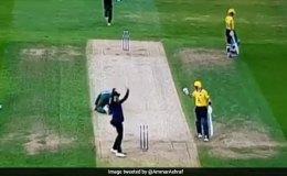 Video: गेंदबाज़ के सिर पर आकर टकराया बॉल और फिर…..