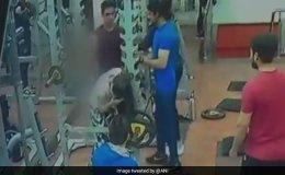 VIDEO:  इंदौर के जिम में युवक ने की महिला से मारपीट