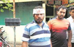 भीड़ ने कर दी गौरक्षकों की पिटाई, सात लोग घायल