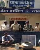 पुलिस ने चोर गिरोह पकड़ा, बरामद किया लाखो का माल