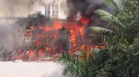 Video : इस बजह से लगी RK Studio में आग