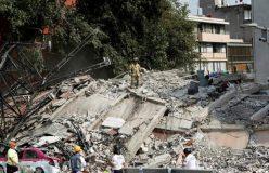 मेक्सिको में विनाशकारी भूकंप, ढहीं इमारतें, 226 की मौत