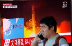 नॉर्थ कोरिया ने दागी मिसाइल, जापान में अलर्ट