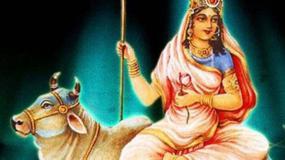 नवरात्रि का पहला दिन: मां को चढ़ाएं लाल फूल, दूर होगी ये समस्या