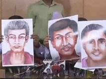 पत्रकार गौरी लंकेश के संदिग्ध हत्यारों के स्कैच जारी