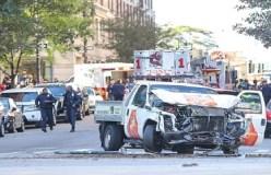न्यूयॉर्क में आतंकी हमला, 8 की मौत
