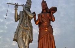 अयोध्या में राम की मूर्ति से पहले सैफई में लगेगी कृष्ण की मूर्ति