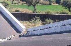 मध्य प्रदेश : झाबुआ-रतलाम ब्रिज ढह गया