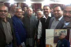 मनु शर्मा का साहित्य समाज का आईना: लालजी टण्डन
