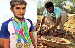 'देश का हीरो' दिहाड़ी पर काम करने को मजबूर
