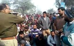 अमेठी:सड़क दुर्घटनाओं से आक्रोशित ग्रामीणों ने की सड़क जाम