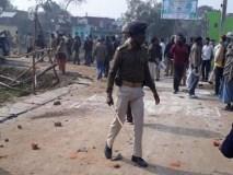 नीतीश कुमार की कार पर हमला,ग्रामीणों ने किया पथराव