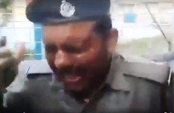 सिपाही ने की आत्मदाह की कोशिश, SP पर आरोप