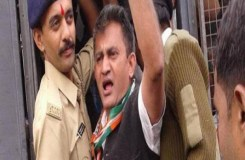 गुजरात : कांग्रेस के सभी विधायक सस्पेंड, जाने पूरा मामला