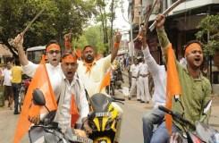 हथियार लेकर निकालेंगे रामनवमी जुलूस – BJP, वीएचपी