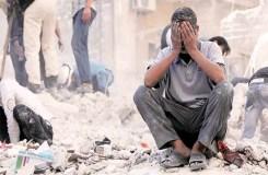 नर्क बना सीरिया, आसमान से बरस रही मौत!