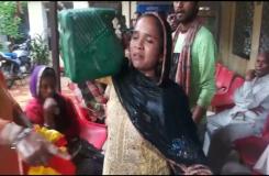 एमपी : जनसुनवाई में महिला ने डाला केरोसिन