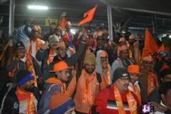 हजारों शिवसैनिक अयोध्या पहुंचे, 'छावनी' में बदली 'रामनगरी'